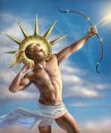 Apollo  - Thần Ánh Sáng - vị thần bảo hộ cho cung Song Tử