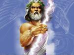 Zeus  - Thần Sấm Sét - vị thần bảo hộ cho cung Sư Tử