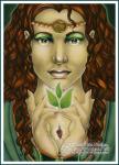 Demeter  - Thần Nông nghiệp - vị thần bảo hộ cho cung Xử Nữ